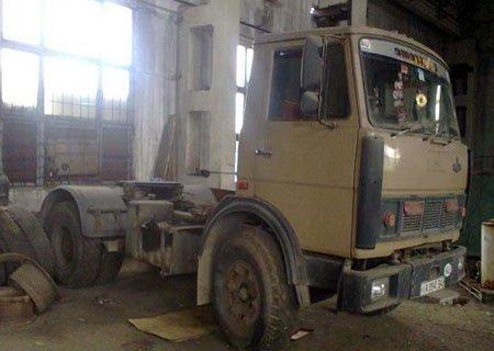 МАЗ-54331: Замена рессор передней подвески на более длинные