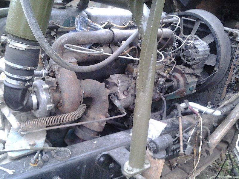 МАЗ-54331: Установка двигателя Scania DSC 1117 и КПП Scania GR 871