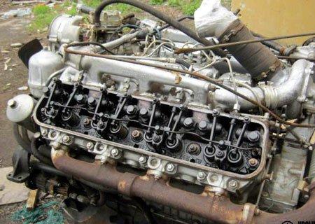 Провернуло коренной вкладыш на ЯМЗ-238Б - пора менять двигатель!