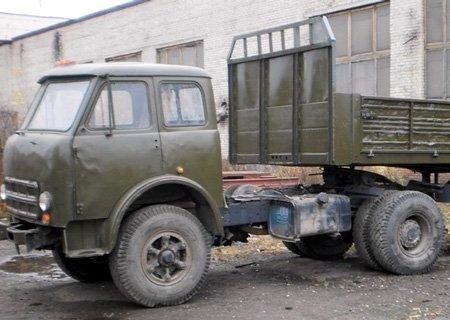 МАЗ-500: Переделка привода сцепления с воздуха на ПГУ