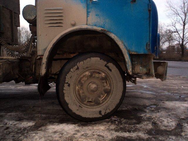 МАЗ-500: Замена ступиц передних колес на Суперовские