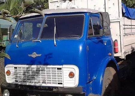 МАЗ-500: Установка стеклоочистителя от КамАЗа