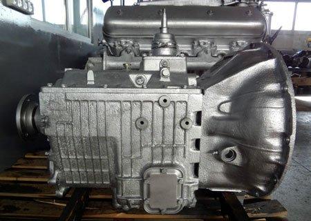 Ремонт КПП ЯМЗ-236 и ЯМЗ-238: Запрессовка шестерни и замена промежуточного вала