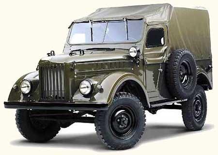 ГАЗ-69 и ГАЗ-69А: Замена передних рессор на задние рессоры