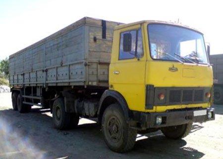 МАЗ-54331: Установка кабины со спальником от МАЗ-54323