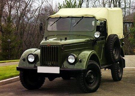 ГАЗ-69: Установка двигателя ГАЗ-21, раздатки и КПП УАЗ-469