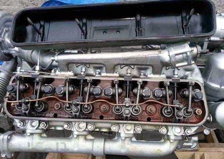 Двигатель ЯМЗ-238: Регулировка клапанов