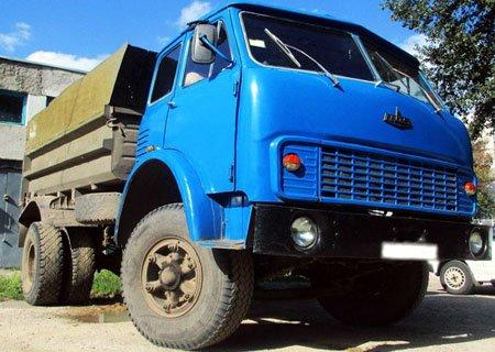 МАЗ-500: Установка рулевого управления с МАЗ-5432 (Супер МАЗ)
