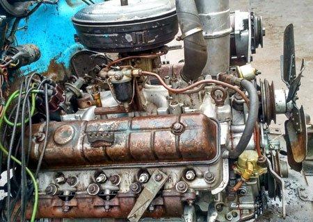 Двигатель ГАЗ-53: Трещина в блоке цилиндров