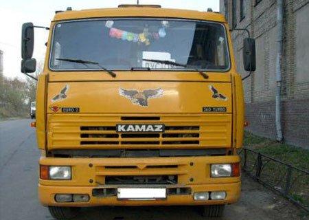 КамАЗ-5410: Установка двигателя Mercedes-Benz и КПП ZF Gearbox
