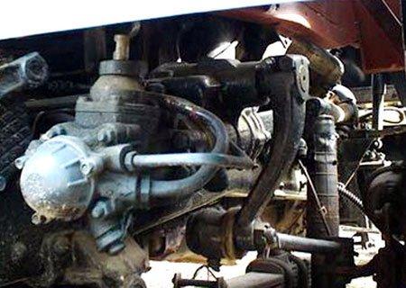 МАЗ-500: Установка гидроусилителя руля от КамАЗа