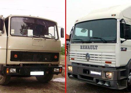 МАЗ-54331 и Рено 300G: Опыт эксплуатации грузовиков