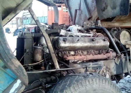 Грузовики МАЗ: Нестандартная заводка двигателя