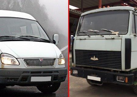 ГАЗ-2752 «Соболь», МАЗ-54329 и МАЗ-54323: Обороты двигателя при переключении передач