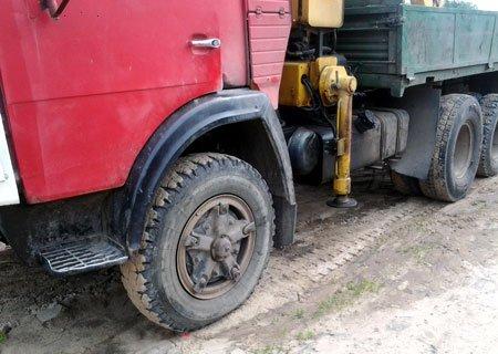КамАЗ-5320: Замена передних ступиц на клиньях на евроступицы