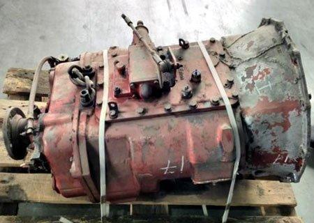 Ивеко Евростар: Переключение передач на 12-ти ступенчатой КПП Eaton TS 11612