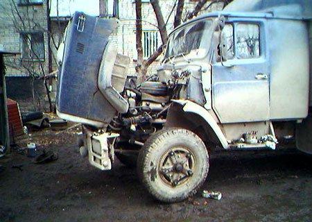ЗИЛ-4331 и ЗИЛ-133ГЯ: Установка передних ступиц на клиньях от КамАЗа