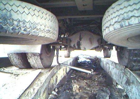 ЗИЛ-4331: Установка заднего моста Raba-MAN с автобуса Икарус