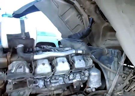 КамАЗ-5511: Регулировка клапанов двигателя КамАЗ-740